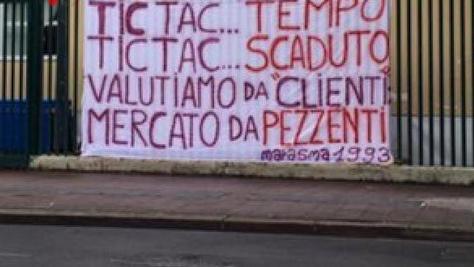 Fiorentina, tifosi viola in rivolta per il mercato