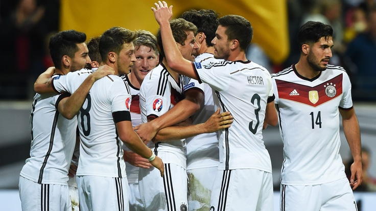 Germania, tris alla Polonia. Albania, pari in Danimarca