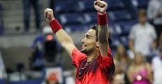Tennis, Us Open: super Fognini, un'altra impresa a 2,05