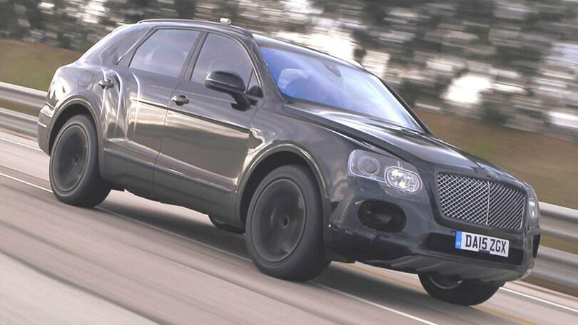 Bentley Bentayga, la sport utility da 300 orari