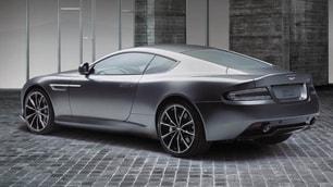 Aston Martin D9 GT Bond Edition, prime immagini