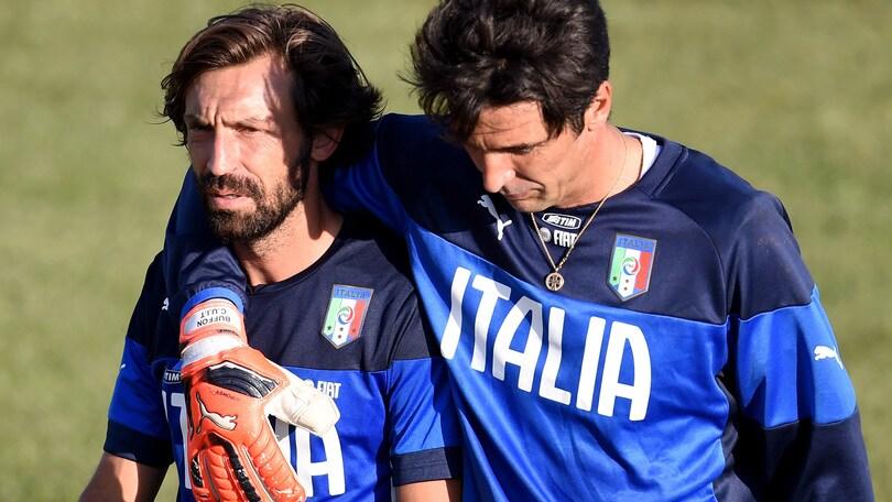 Buffon: «Pirlo è fondamentale, lo vorrei sempre»