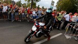 Hamilton a Monza con la… MV Agusta