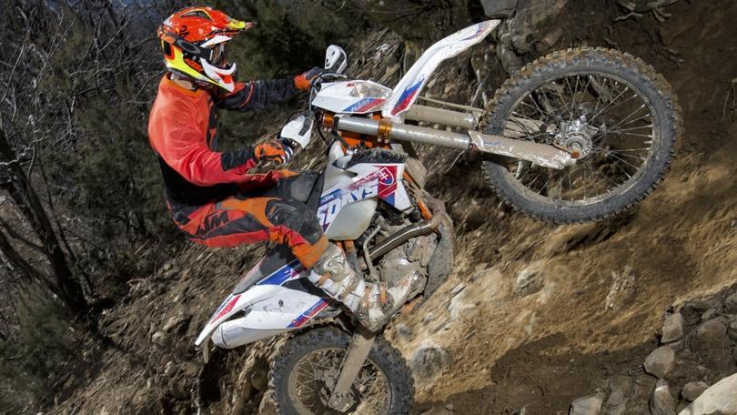 """KTM EXC: edizione limitata """"omaggio"""" alla Sei Giorni"""