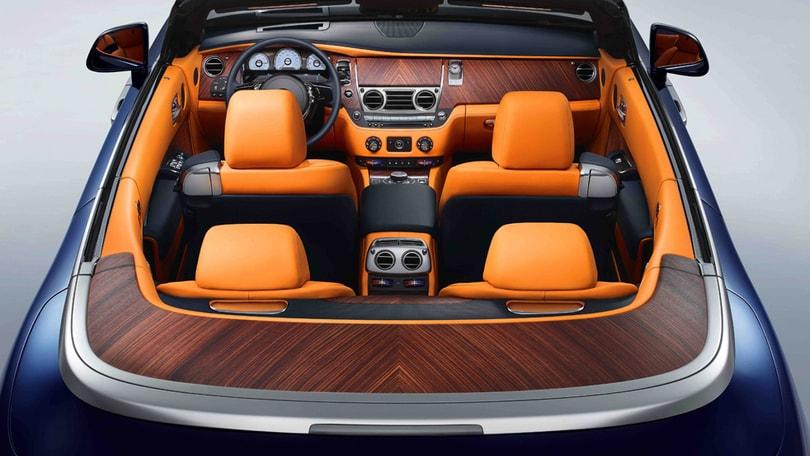 Rolls Royce Dawn: cabrio con 4 posti (veri)