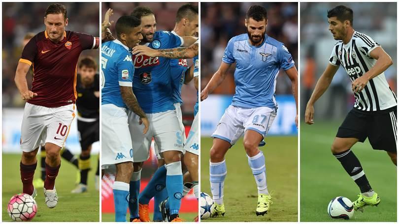 Guarda tutte le probabili formazioni della 3ª giornata di Serie A