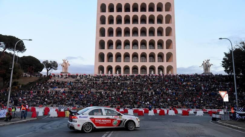 """Rally di Roma, la Capitale nella """"serie A dei motori"""""""