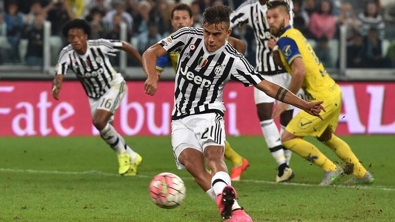 Juventus-Chievo 1-1: Dybala salva Allegri