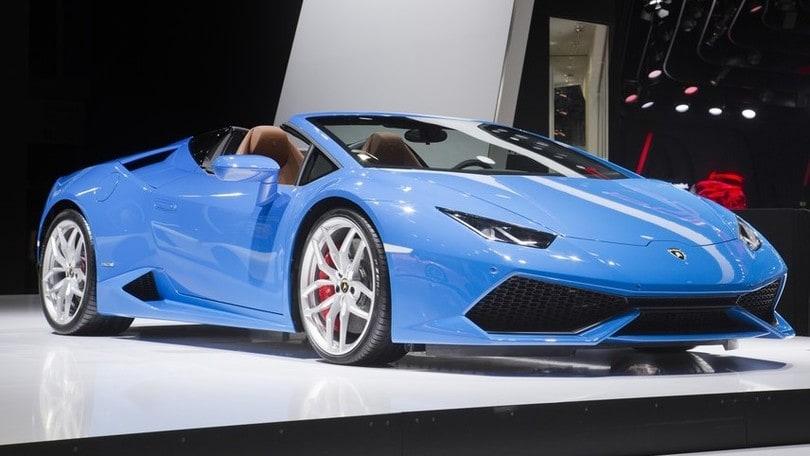 Salone Francoforte LIVE: Lamborghini Huracan Spyder, sogno a cielo aperto