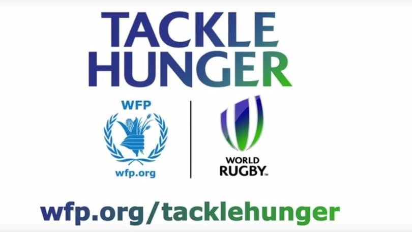 Rugby, il WFP e la Federazione mondiale insieme per raccogliere fondi durante il Mondiale