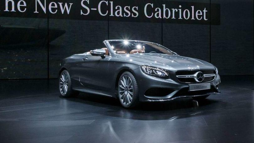 Mercedes Classe S Cabrio, aperta al lusso, Salone di Francoforte