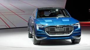 Salone di Francoforte Live, Audi e-tron quattro