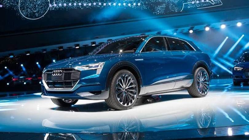 Audi e-tron quattro, Salone di Francoforte Live