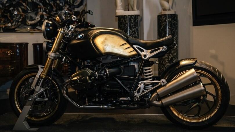 "Quando la moto diventa arte: ecco la BMW nineT ""tattoo"""