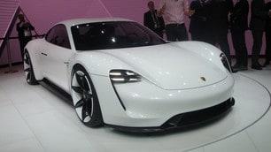 Porsche Mission E, 600 cv elettrici, Salone di Francoforte