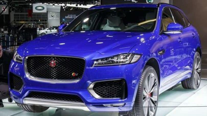 Jaguar F-Pace, il SUV arriva a maggio, Salone di Francoforte