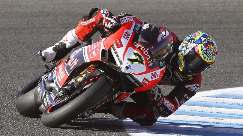 SBK Ducati, Davies: «Troppi punti da recuperare»
