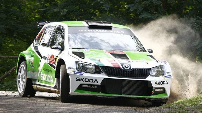 Rally di Roma vince Scandola dopo una battaglia con Basso