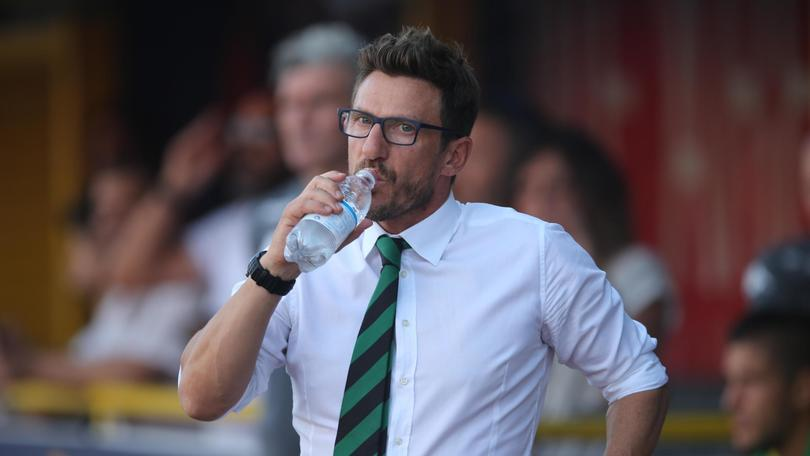 Di Francesco: «Gol di Totti? Non ha senso protestare»