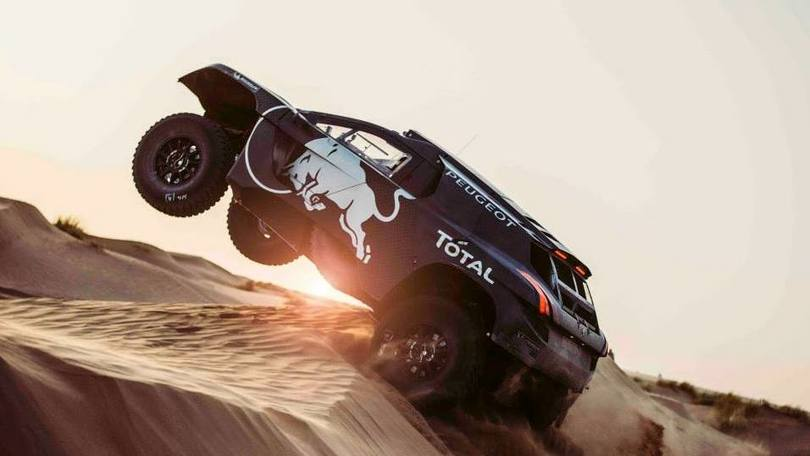 Dakar 2016, la nuova belva Peugeot
