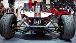 Salone Francoforte: Honda con la MotoGp a 4 ruote