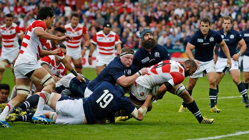 Mondiali rugby 2015, Giappone travolto dalla Scozia