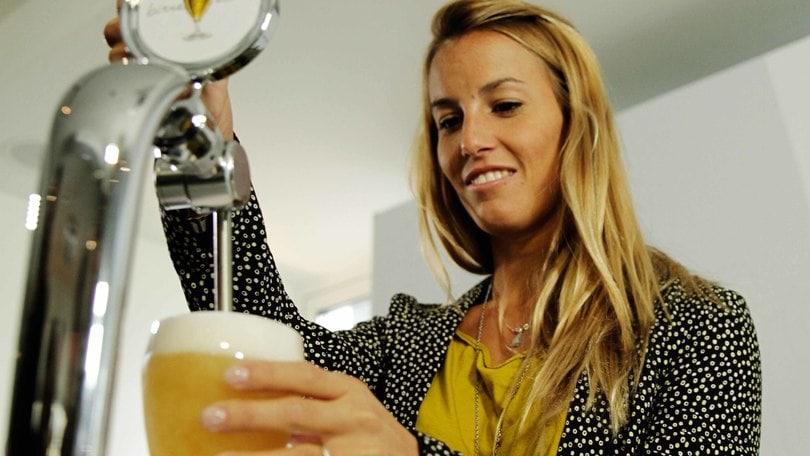 Tania Cagnotto a tutta birra