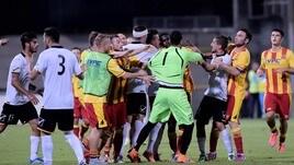 Lega Pro, Benevento-Messina: rissa in campo nel finale