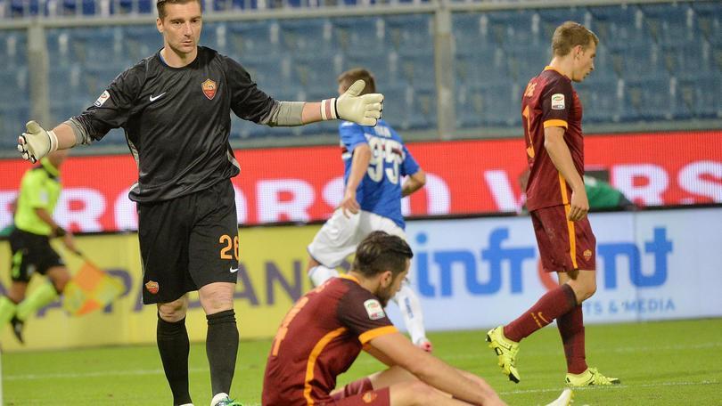 Sampdoria-Roma 2-1: Salah non basta, autogol beffa di Manolas