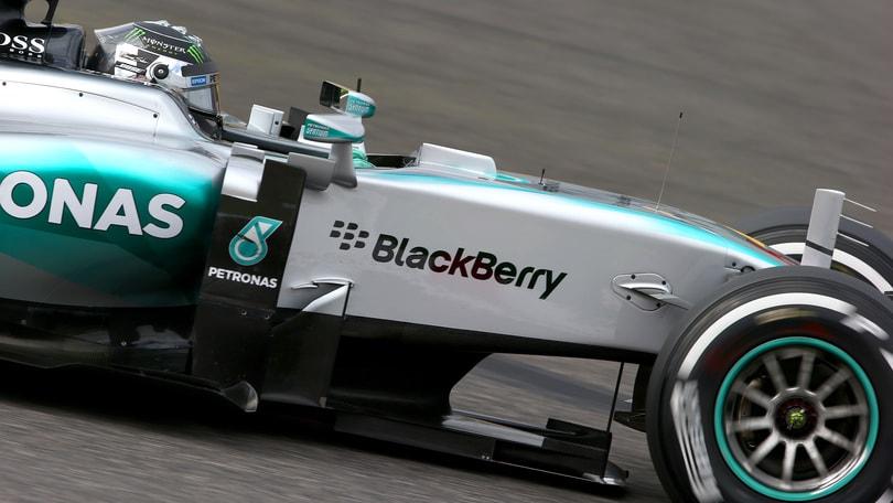 F1 Suzuka, Rosberg in testa in Q2