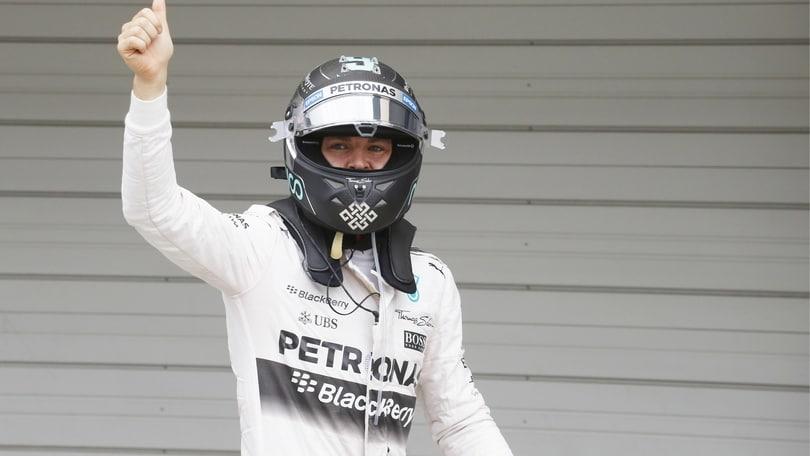 F1 Suzuka, Rosberg: «Giorno importante per noi»