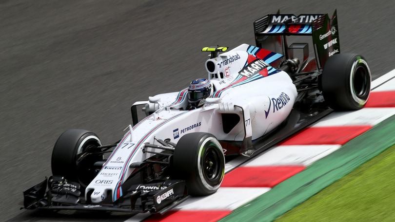 F1 Suzuka, Bottas: «Terzo posto ottimo»