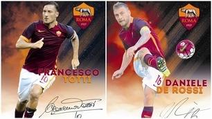 Tutte le cards della Roma in edicola con il Corriere dello Sport-Stadio