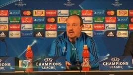 "Benitez tranquillo: ""I gol arriveranno"""