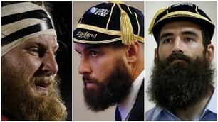 Quante barbe ai Mondiali di rugby!