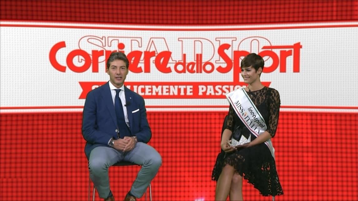 Miss Italia al Corriere dello Sport  «Cinema e basket e4c647dc8558
