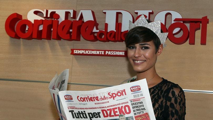 Miss Italia al Corriere dello Sport  «Cinema e basket 076274114b33