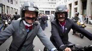 Gentiluomini in cafe racer: 30.000 barbe, baffi e tweed per una giusta causa
