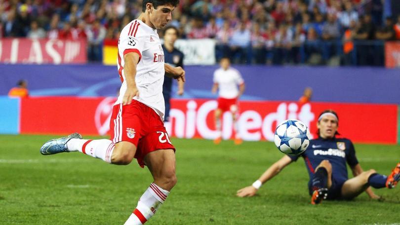 Guedes, gol all'Atletico e clausola da 50 milioni