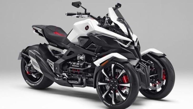 Honda: è pronto il tre-ruote ibrido