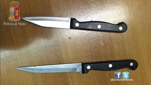 Lazio-St. Etienne, sequestrati coltelli, petardi e alcolici