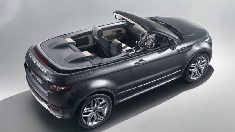 Range Rover Evoque cabrio, il debutto a novembre