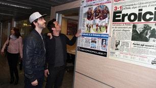 Gli Zero Assoluto ospiti al Corriere dello Sport-Stadio