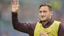 Roma, Totti si allena: rientra a fine mese