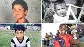 I campioni del pallone da bambini. Li riconoscete?