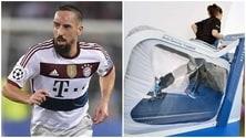 Bayern, calvario Ribéry.Ora si affida alla...Nasa!