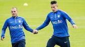 Olanda mano nella mano per sperare nell'Europeo
