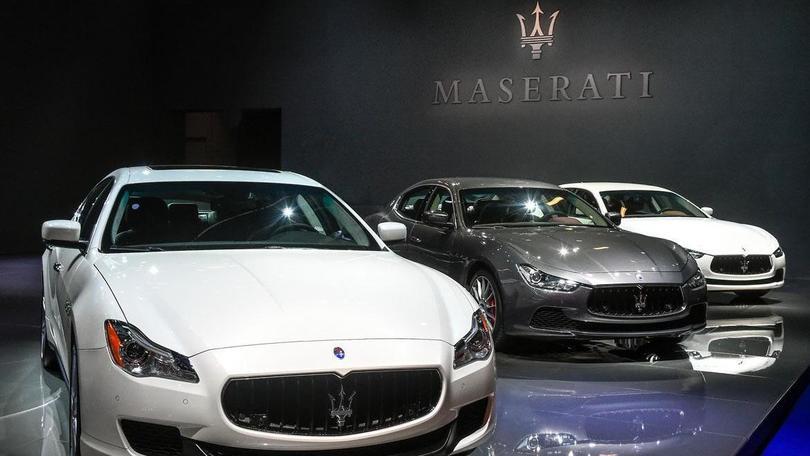 Maserati: più di 1.000 auto vendute nel 2015