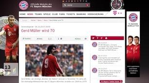 Muller ha l'Alzheimer. Il Bayern al suo fianco