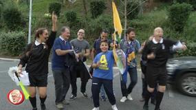 I tifosi del Frosinone e della Lazio ballano sulle note di Stayin' Alive